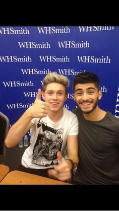 Zayn and Niall, they're so cute I'm crying