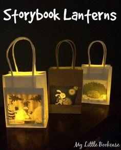 Storybook Lanterns. Books Light Up Our World, Book Week 2015