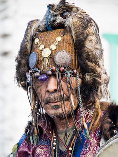 Ritual at the shaman .