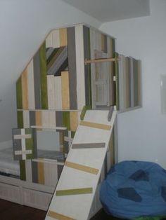 Baumhaus fürs Kinderbett