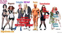 rocky horror picture show costumes - Google Search