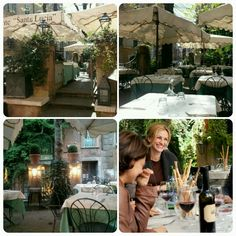 Have lunch at Santa Lucia where Julia Roberts eats in Eat.Pray.Love - Rome, Italy - TICKED