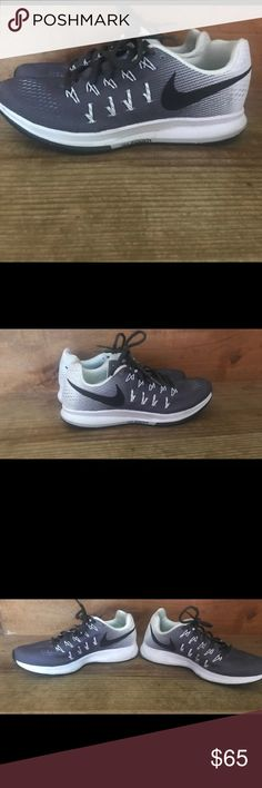 Nike sneakers Women's size 8. Only worn twice. Just bought 2 months ago. They are the Nike air zoom Pegasus model. Currently go for $110. No stains or flaws, look brand new. Nike Shoes Athletic Shoes