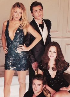 Gossip Girl - I am not ashamed of my Guilty Pleasure || Serena, Chuck, Blair and Nate