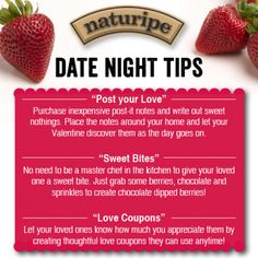 Date Night Tips with Berries - Naturipe Farms #SweetBites #Naturipe