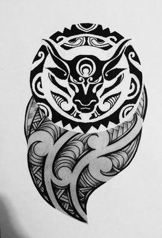 Tribal Dragon Tattoos, Viking Tattoos, Polynesian Tattoo Designs, Maori Tattoo Designs, Forarm Tattoos, Sleeve Tattoos, Final Fantasy Tattoo, Taurus Bull Tattoos, Band Tattoo