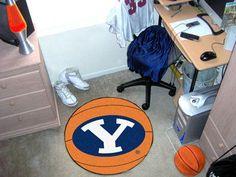 Brigham Young University Basketball Mat