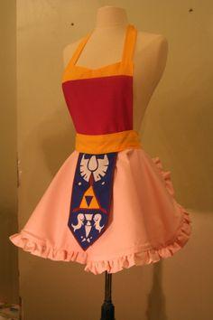 Toon Zelda Apron. $65.00, via Etsy.