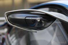 BMW mirror.