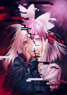 Schicksal / Nacht bleiben: Himmelsgefühl ♡ Folgen (☞ ゚ ヮ ゚) ☞ Pindragon 📌 - Frau Art - Dark Anime Girl, Kawaii Anime Girl, Manga Girl, Manga Kawaii, Art Manga, Cool Anime Girl, Anime Art Girl, Yandere Manga, Yandere Girl