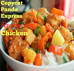Copycat Panda Express Firecracker Chicken