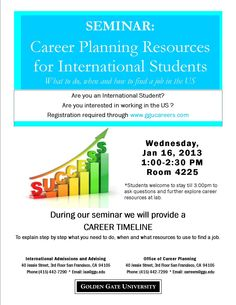Career Planning for International Students