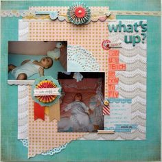Scrapbooking Ideas for Using the Sight Lines in Your Photos |Susanne Brauer | Get It Scrapped