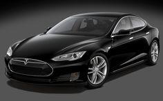 Luxury Sedan Tesla Model S