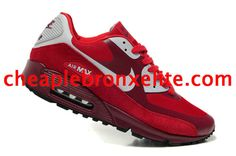competitive price c392d e5862 Nike Air Max 90 Shoes Sports Red Neutral Grey 333888 601 Nike Kwazi, Nike  Air