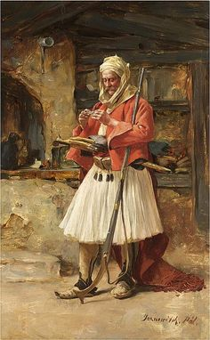 Paja Jovanović is one of the greatest Serbian painters. Uroš Predić, another great painter, is perhaps the only artist from the Serbian . Les Balkans, Albanian Culture, Academic Drawing, Empire Ottoman, European Paintings, Arabic Art, Fantasy Paintings, Historical Art, Les Oeuvres
