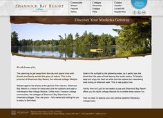 Shamrock Bay Resort (shamrockbayresort.com) — ©PM Design and Marketing