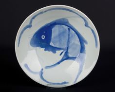 China 20. Jh. Speiseschale - A Chinese Blue & White Food Bowl - Cinese Chinois