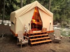 We Rent and Deliver Luxury Safari Tents to your Favorite Adirondack Locations. is a HomeAway in Diamond Point. Plan your road trip to We Rent and Deliver Luxury Safari Tents to your Favorite Adirondack Locations. Luxury Camping Tents, Best Tents For Camping, Camping Items, Camping Glamping, Outdoor Camping, Camping Gear, Camping Store, Camping Cabins, Camping Trailers