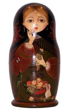 Matryoshka Doll. http://www.pinterest.com/MatryoshkasSoap/one-of-a-kind-matryoshka/