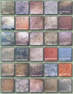 Bacchus Construction - , - Stamped Concrete Patterns
