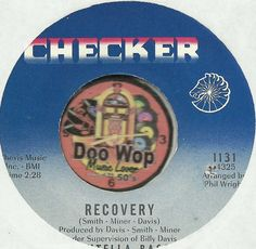 FONTELLA BASS Recovery NORTHERN SOUL R&B 45 RPM RECORD NM-