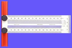 T-Anreiß- und Markierungslineal mm