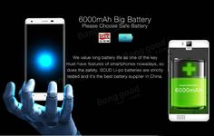 OUKITEL K6000 Pro 5.5-inch 6000mAh Fingerprint 3GB RAM MT6753 Octa-core 4G Smartphone Sale - Banggood.com