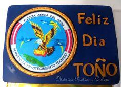 TORTA MILITAR FAP PARA ESPECIALIDAD DE ABASTECIMIENTO, con detalles unicos en ella, elaborado por MONICA PASTAS Y DULCES,