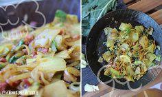 Gebratener Kohlrabi (falsche Bratkartoffeln)