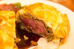 Beef Wellington – Another guest post by Stuart Gordon Ramsay Restaurants, Beef Wellington, Spanakopita, Dishes, Ethnic Recipes, Food, Plate, Tablewares, Meals