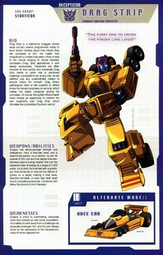 Transformers Universe - Gallery: G1 Stunticons Dragstrip