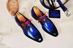 Excited to share the latest addition to my #etsy shop: TucciPolo Mens Oxford Handmade Classic Blue with Red Wrapped Laces Luxury Italian Leather Shoe http://etsy.me/2BtyxOF #clothing #shoes #men #blue #handmadeshoes #menshandmadeshoes #mensluxuryshoes #luxuryshoes #cus