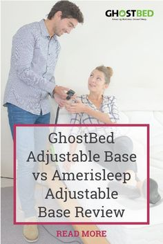 At an affordable price, doubled with luxury accoutrements, GhostBed's adjustable base is a clear winner against the Amerisleep adjustable base. Health And Fitness Tips, Health And Wellness, Ghost Bed, Adjustable Base, Education Center, Snoring, Insomnia, Social Media Tips, Back Pain