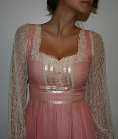 70s Gunne Sax dress - all my prom dresses were Gunne Sax!