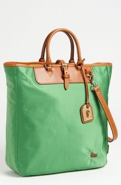 Perfect mix of fun and work - Dooney & Bourke tote