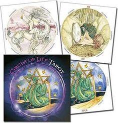 Circle Of Life Taror (round) By Maria Distefano