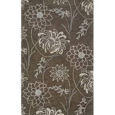 I pinned this Mantra Rug in Brown from the Oak Orchard Studios event at Joss and Main!