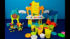 Play Doh Town. Unpacking huge play set Play Doh Town. 3-in-1 Town Center...