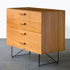 Luther Conover, Plywood Dresser for Pacifica, 1949