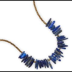 Blue Lapis Necklace