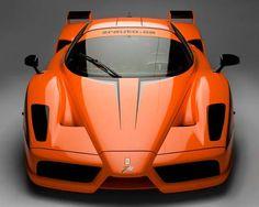 Ferrari Enzo in orange