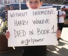 & Hermione Harry would& died in book & Lovely! The post & Hermione Harry would& died in book & Lovely! appeared first on Katherine Levine. The Words, Protest Signs, Feminist Quotes, Feminist Art, Harry Potter Jokes, Hermione Granger, Girl Power, Hogwarts, Equality