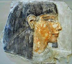 https://flic.kr/p/6LRe5k | Noble Profile | 18th-Dynasty (15th or 14th century BCE) relief depicting an Egyptian nobleman.
