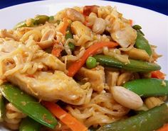 """Spicy Ramen Skillet Thai Style from Food.com:   I came up with this recipe for """"Dining on a Dollar"""". I love this because it' spicy, sweet, tangy, easy and quick to prepare,  and best of all... inexpen$ive!"""