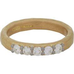 Malcolm Betts Diamond & Gold Ring at Barneys.com