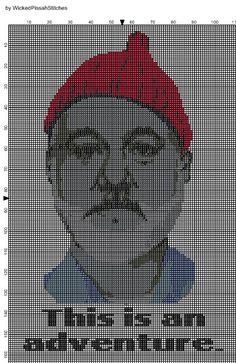 The Life Aquatic-Cross Stitch Pattern PDF on Etsy, kr42,58