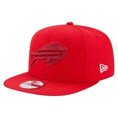 2f6da01d2d90 Men s Buffalo Bills New Era Red Color Rush Original Fit 9FIFTY Snapback  Adjustable Hat