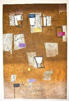 "Ancient Record No. 5, 1998, Hideo Hagiwara, ed. of 30, 26 3/4"" x 39 1/2"""
