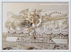 Белоснежные мечты...: Свадебный конверт и осеннее настроение